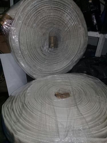 manguera para hidrante contra incendios de 1 1/2 x 30 mts