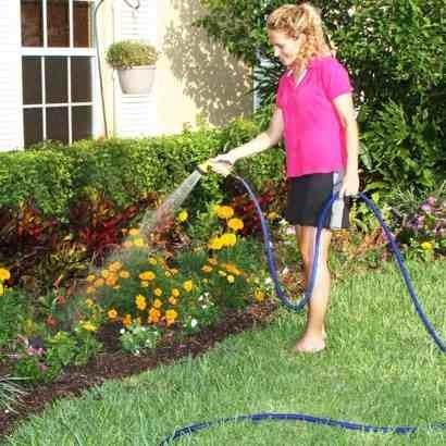 manguera para hogar y jardin expandible y flexible 15 metros