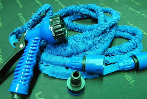 manguera plana expandible magic hose 30mts + pico regador ..