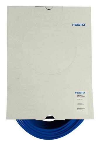 manguera plástica festo pun-h-6x1-bl (197384) 10 mts.