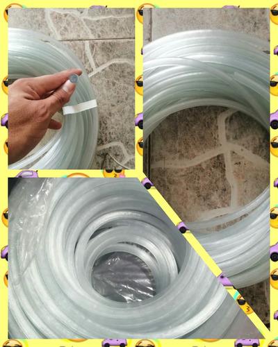 manguera plástica transparente