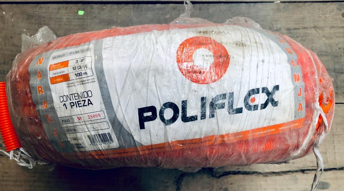 Manguera Poliflex  Rollo 3 8  100 M Mod  P-l Na 16-10