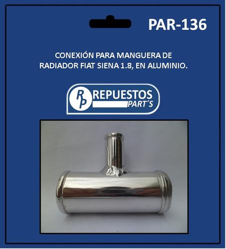manguera pulpo fiat palio-siena 1.8 conexión aluminio combo