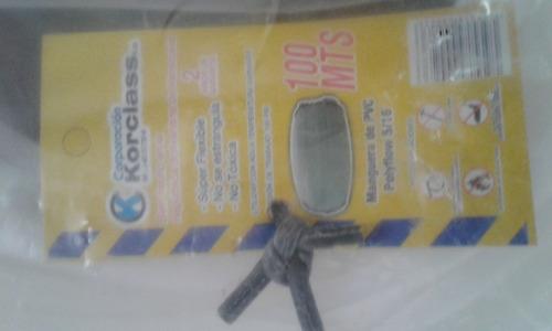 manguera pvc poly flow o poli flo 5/16 resiste 150 psi