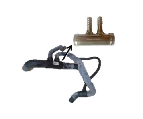 manguera radiador inferior fiat fire pulpo