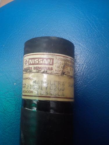 manguera radiador superior nissan sentra b 13 8 valvulas ori