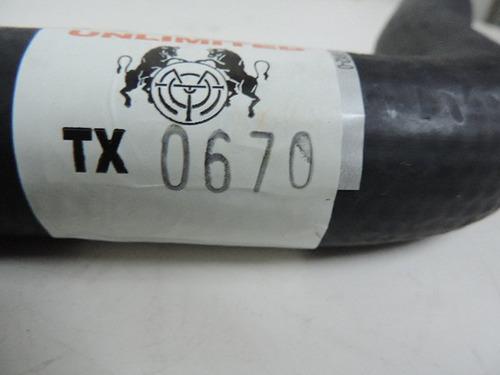 manguera superior radiador neon 97-99 tx 0670