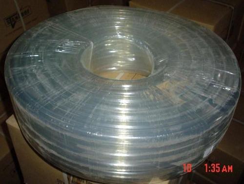 manguera transparente 1*2.5mm* mt  stanprof (rollo x 50mt)