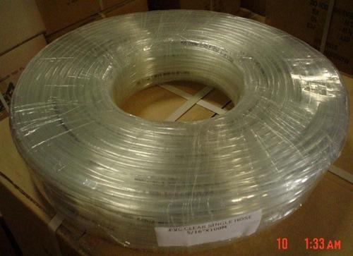 manguera transparente 5/16 x 1.0 mm x 100mt stanprof