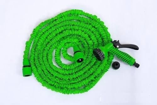 manguera tv expandible 30 mts + boquilla de riego x hose