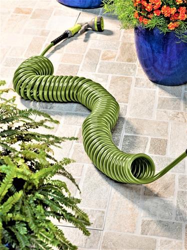 manguera/espiral room essentials: patio-pistola riego7 modos