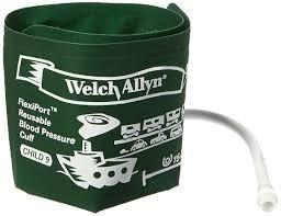 manguito pediatrico nro. 9 sin tubo welch allyn reutilizable