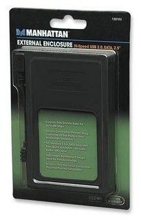 manhattan 130103 encapsulador sata 2.5 (para disco laptop)
