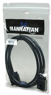 manhattan 2 m cable svga macho monitor / proyector