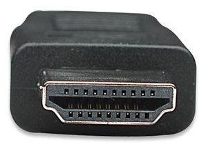 manhattan cable hdmi 1.8 m macho tv - pc - laptop - pantalla