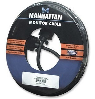 manhattan cable svga 30 m macho (monitor - proyector)