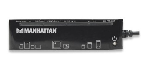 manhattan lector de multiples tarjetas usb externo (gadroves