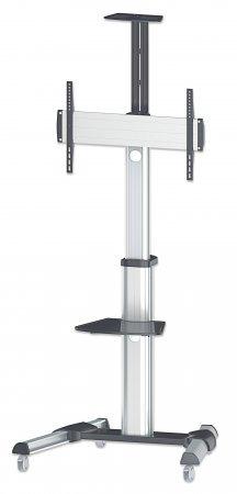 Manhattan soporte carrito tv pantalla 37 a 70 50kg giro al 10 en mercado libre - Soporte con ruedas para tv ...