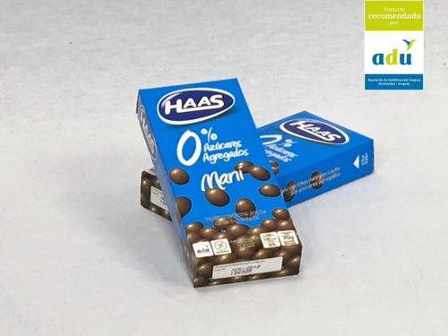 maní c/ choc.c/ leche haas 0%* 70grs - sello adu - diabetes