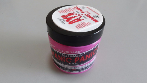 manic panic tinta semi permanente cotton candy pink n.y.c