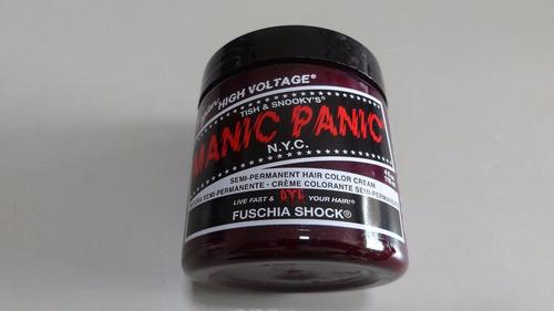 manic panic tinta semi permanente das famosas fuschia shock