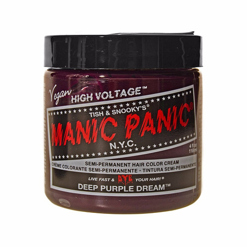 manic panic tinta semi permanente deep purple dream n.y.c