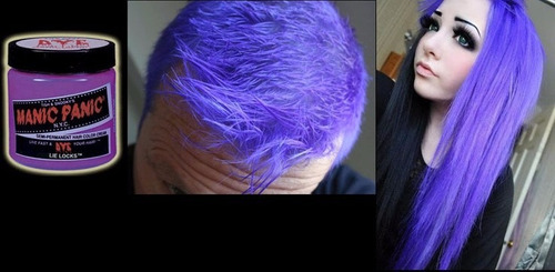 manic panic tinta semi permanente lie locks das famosas nyc