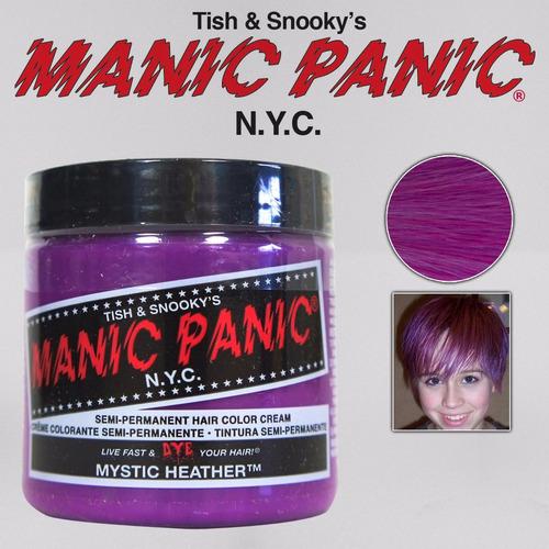 manic panic tinta semi permanente mystic heather n.y.c.