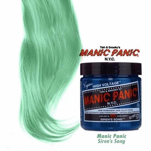 manic panic tinta semi permanente siren`s song n.y.c
