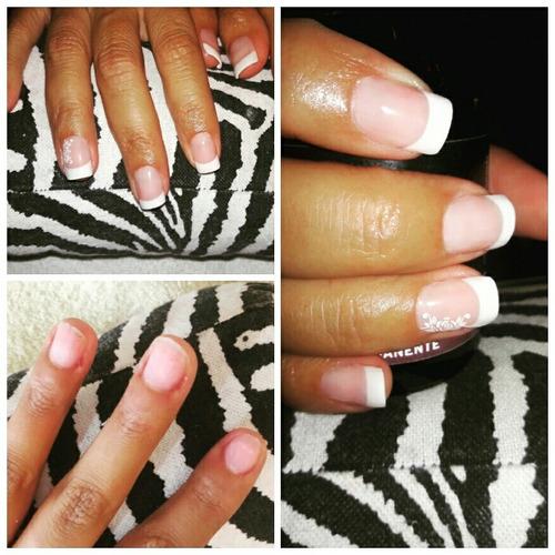manicura uñas esculpidas gelificadas acrílicas  a domicilio