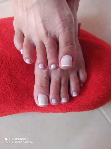 manicure e pedicure a domicílio