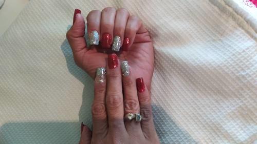 manicure y sistemas de uñas a domicilio
