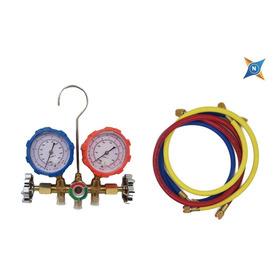 Manifold Completo Heladera Y Aire Acondicionado R410