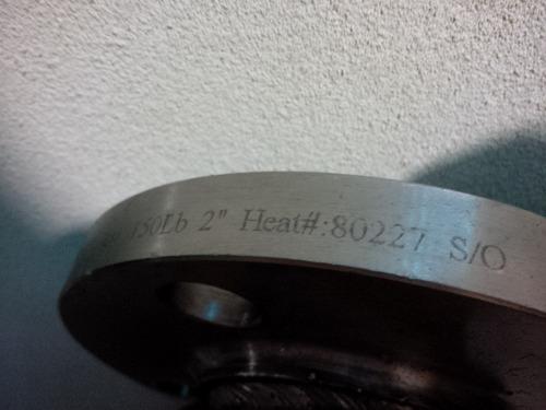 manifold con doble brida y valvula de 2 pulgadas
