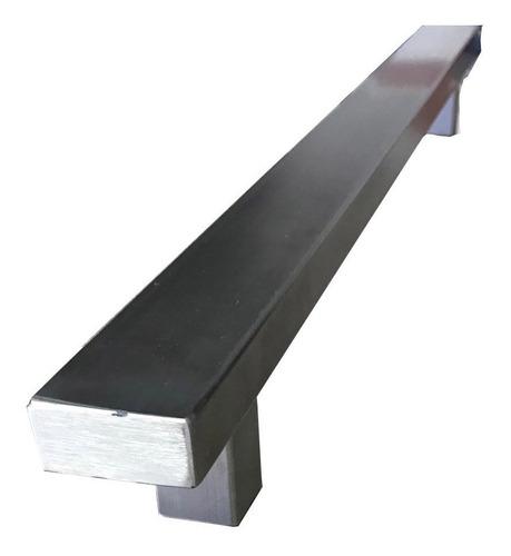 manija barral acero cuadrado rectangular puertas porton 100