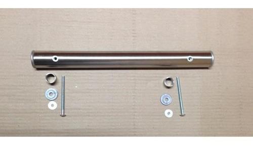 manija barral acero inoxidable puertas portones 80cm