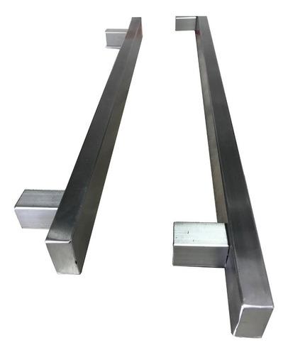 manija barral acero inoxidable puertas portones de 40cm