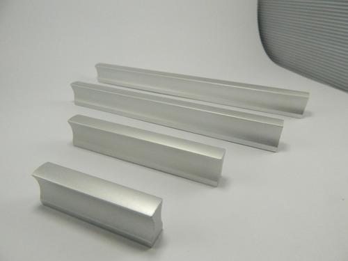 manija barral l aluminio 160 mm herraje cajón mueble