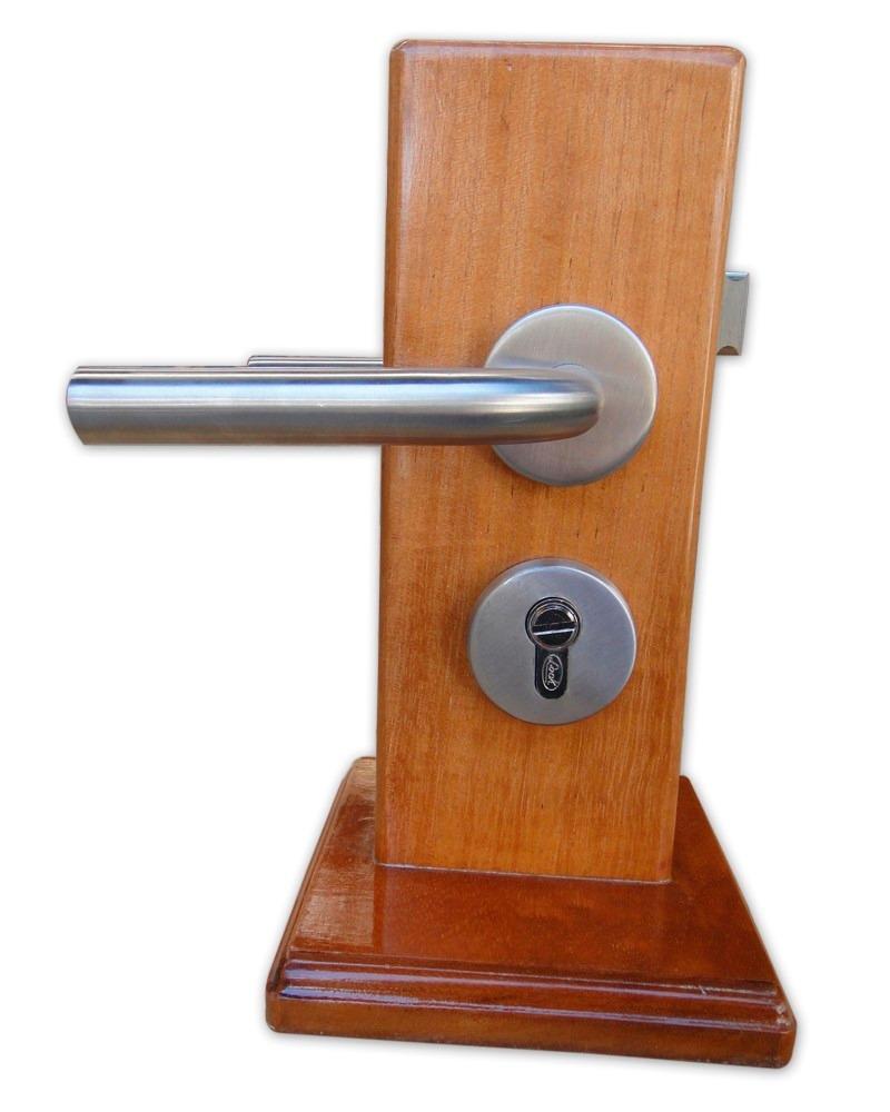 Manija de acero inoxidable tipo chatel para ba o lock for Muebles para bano acero inoxidable