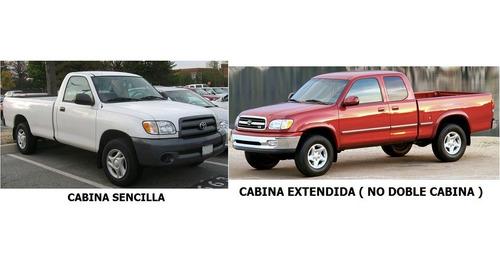manija de batea / caja trasera toyota tundra 2000 - 2006