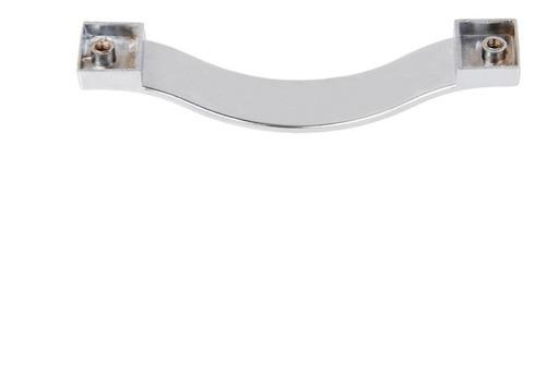 manija de puerta armario cajón con cristal diamante 96mm #2