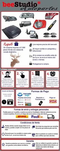 manija ext dodge pu 09-13 negra/ cromo s/hoyo p/llave del/ t