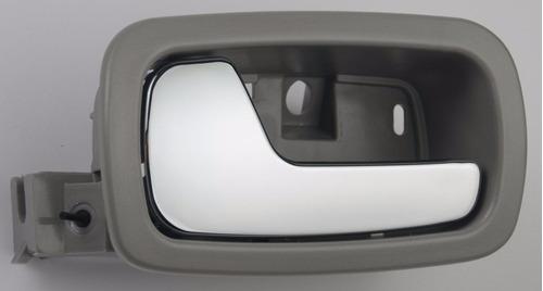 manija interior izquierda gris pontiac g4 / g5 2004 - 2009