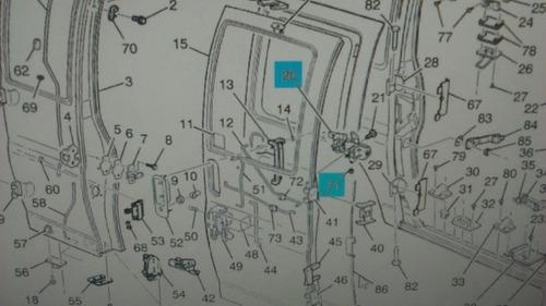 manija interior puerta intermedia express 97-02 15727742