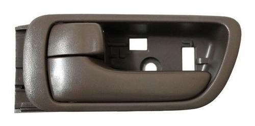 manija interior toyota camry 2002-2003-2004-2005 gris/cromo