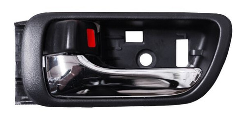 manija interior toyota camry 2005-2006 negro cromo+regalo
