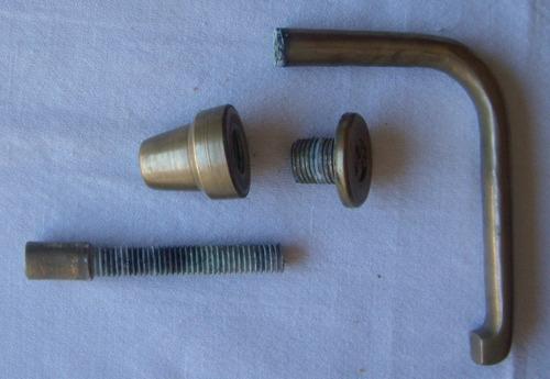 manija mampara de baño blindex - repuesto - bronce