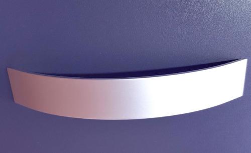 manija mueble moderna aluminio 128mm verashop 008 x 5 un