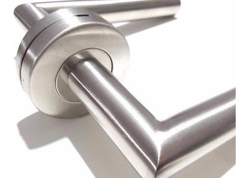manija puerta picaporte de acero inoxidable con retroceso