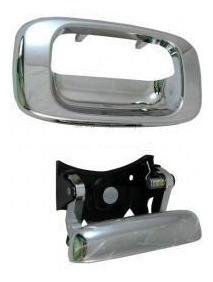 manija silverado 1999 - 2006 caja / batea cromada nueva!!!
